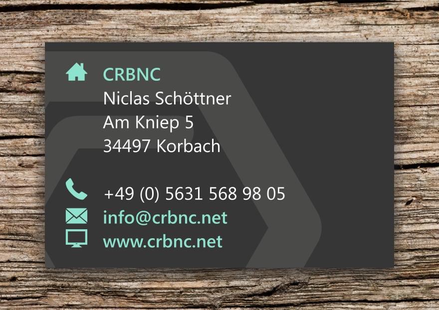 Crbnc Visitenkarte Rroesener De I Online Portfolio
